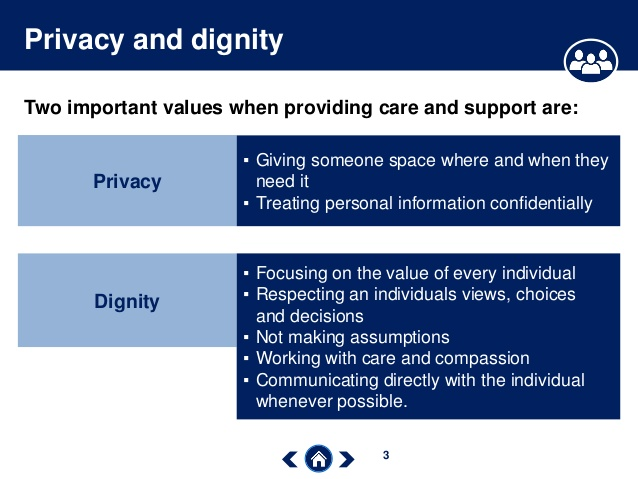 Care Certificate Standard 07: Privacy and Dignity - e-Learning CPD