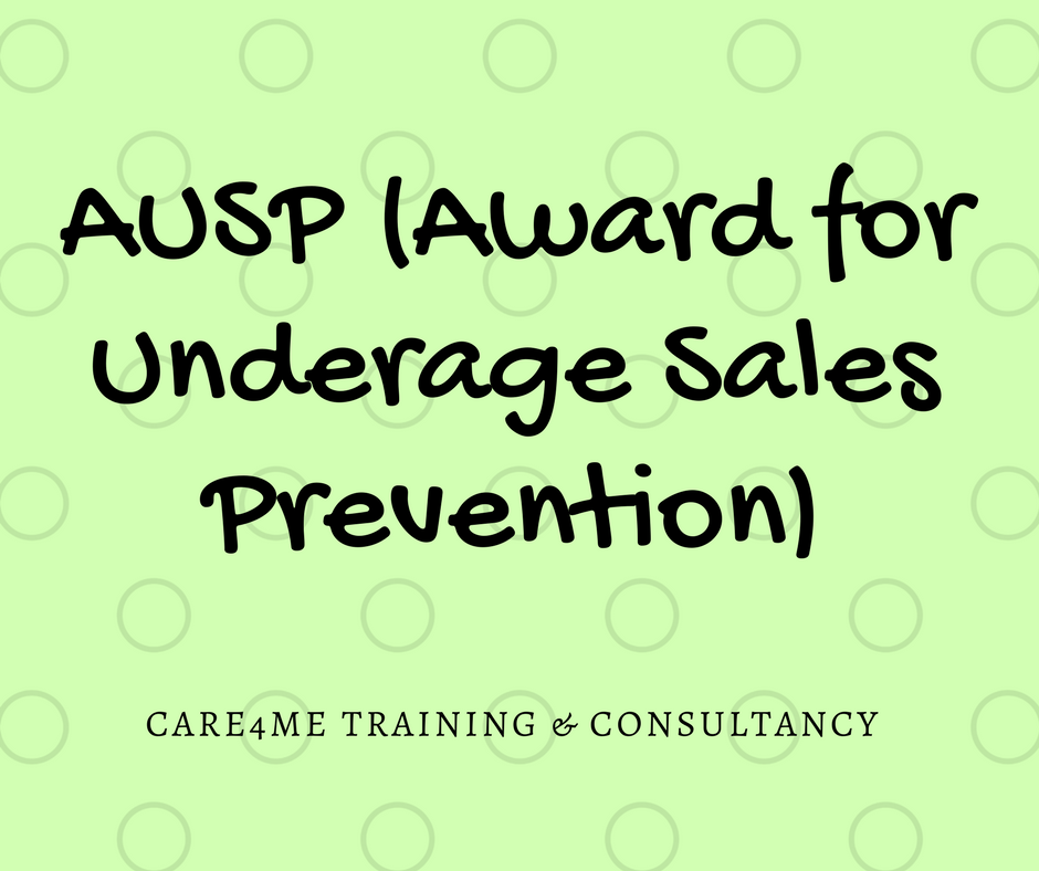 AUASP (Award for Underage Sales Prevention) - e-Learning CPD