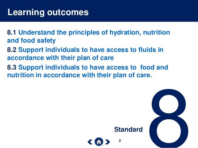 Care Certificate Standard 08. Fluids and Nutrition - e-Book