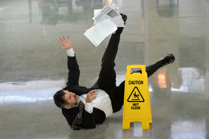 Slips, Trips and Falls: Healthcare - e-Learning CPD